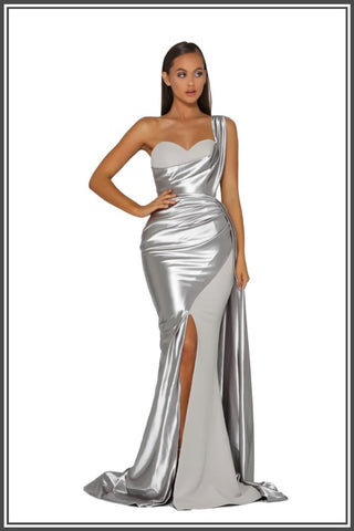 Camille Gown - Silver