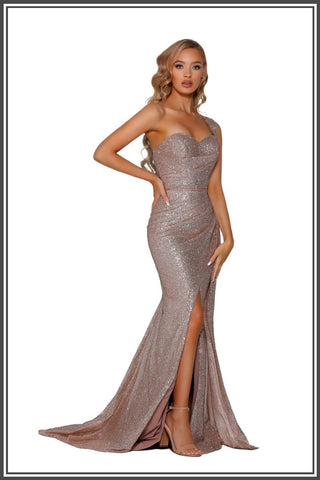 Rosaria Gown - Rose Gold
