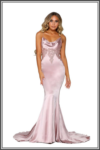 Paloma Gown - Rose Gold