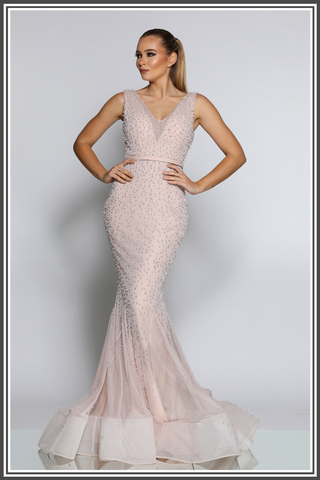 Jadore Rose Gown in Dusty Lilac