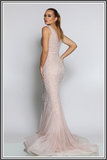 Jadore Rose Dress in Dusty Lilac