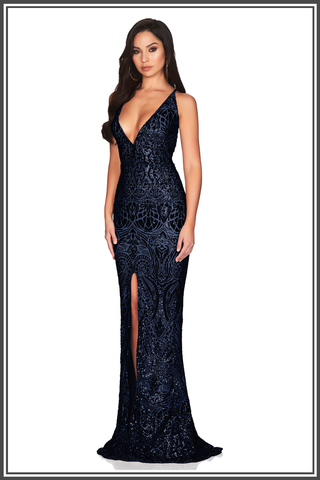 Shanina Plunge Gown by Nookie
