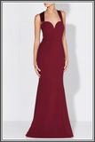 Sandrine Dress by Love Honor in Wine