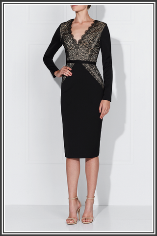 Stefana Dress - Black