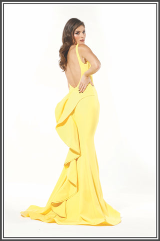 Danu Gown - Yellow