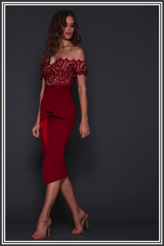 Tango Dress - Scarlett Red