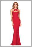 Viva 2 Way Gown - Red