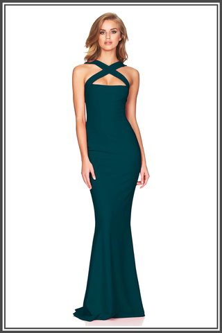 Viva 2 Way Gown - Teal