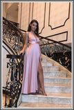 Nadine Merabi Gracie Gown - Blush