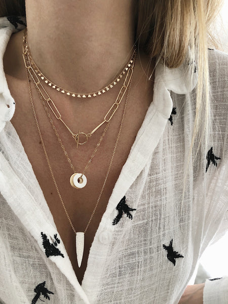 Collier Grace et Rose X Orta