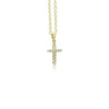 Cross Pendant (Mini Yellow Gold)