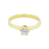 Rae Single Stone Diamond Ring