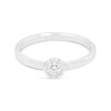 Thea Single Stone Diamond Ring