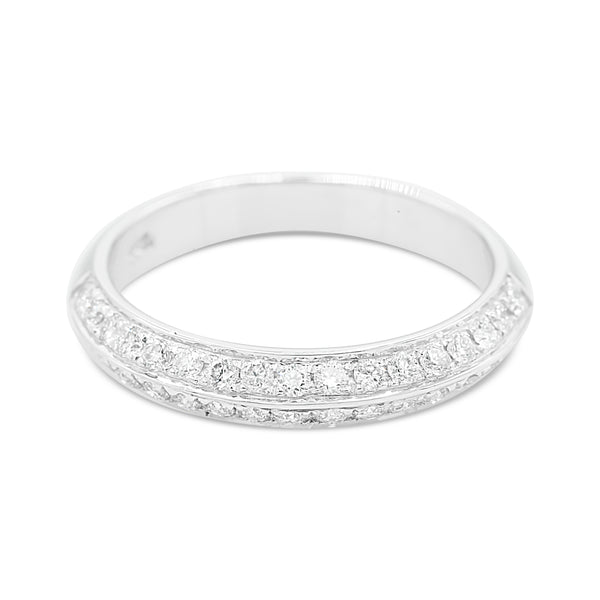 Sophia Two Row Diamond Ring