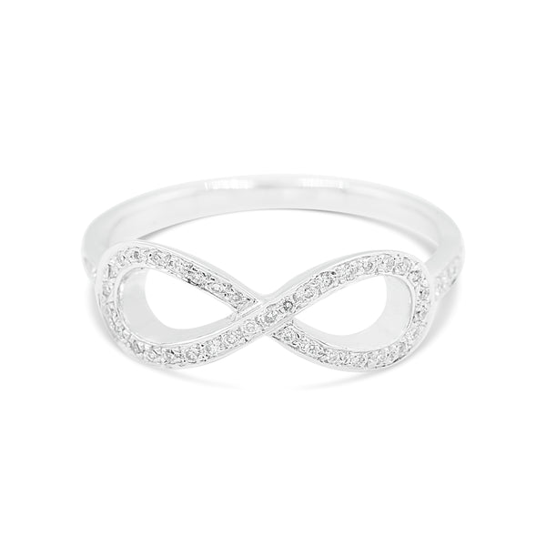 Aiyana Infinity Diamond Ring