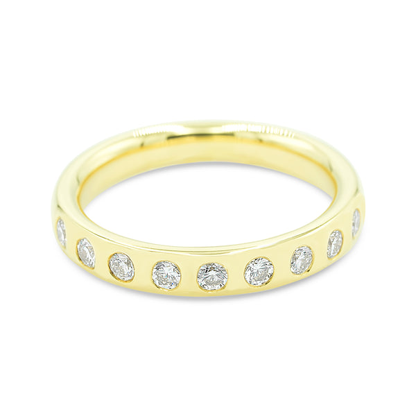 Sara Nine Stone Diamond Ring