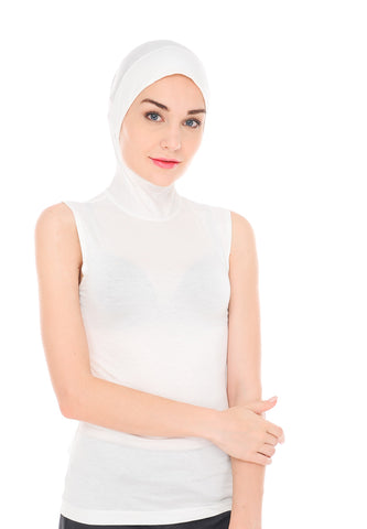 T-Jab™, Sleeveless, Off-White