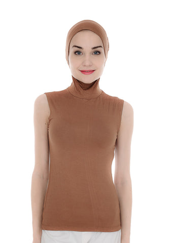 T-Jab™, Sleeveless, Brown