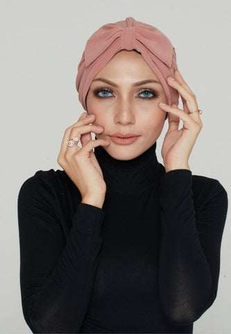 Instant Turban, Bow, Rouge