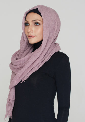 Cotton Scarf, Lavender