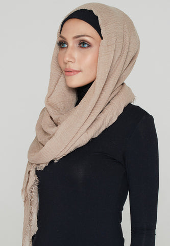Cotton Scarf, Sand