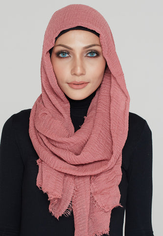 Cotton Scarf, Rose