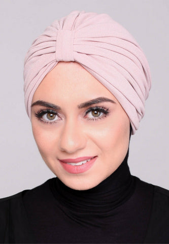Instant Turban, Classic, Dusty Pink
