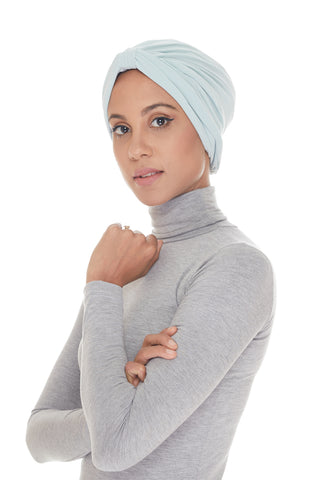 Instant Turban, Classic, Baby Blue