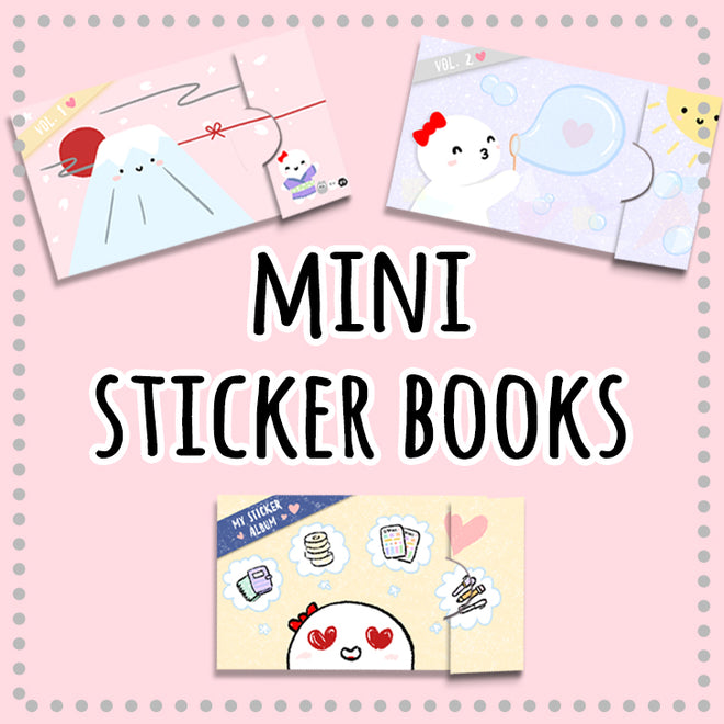 Mini Sticker Books