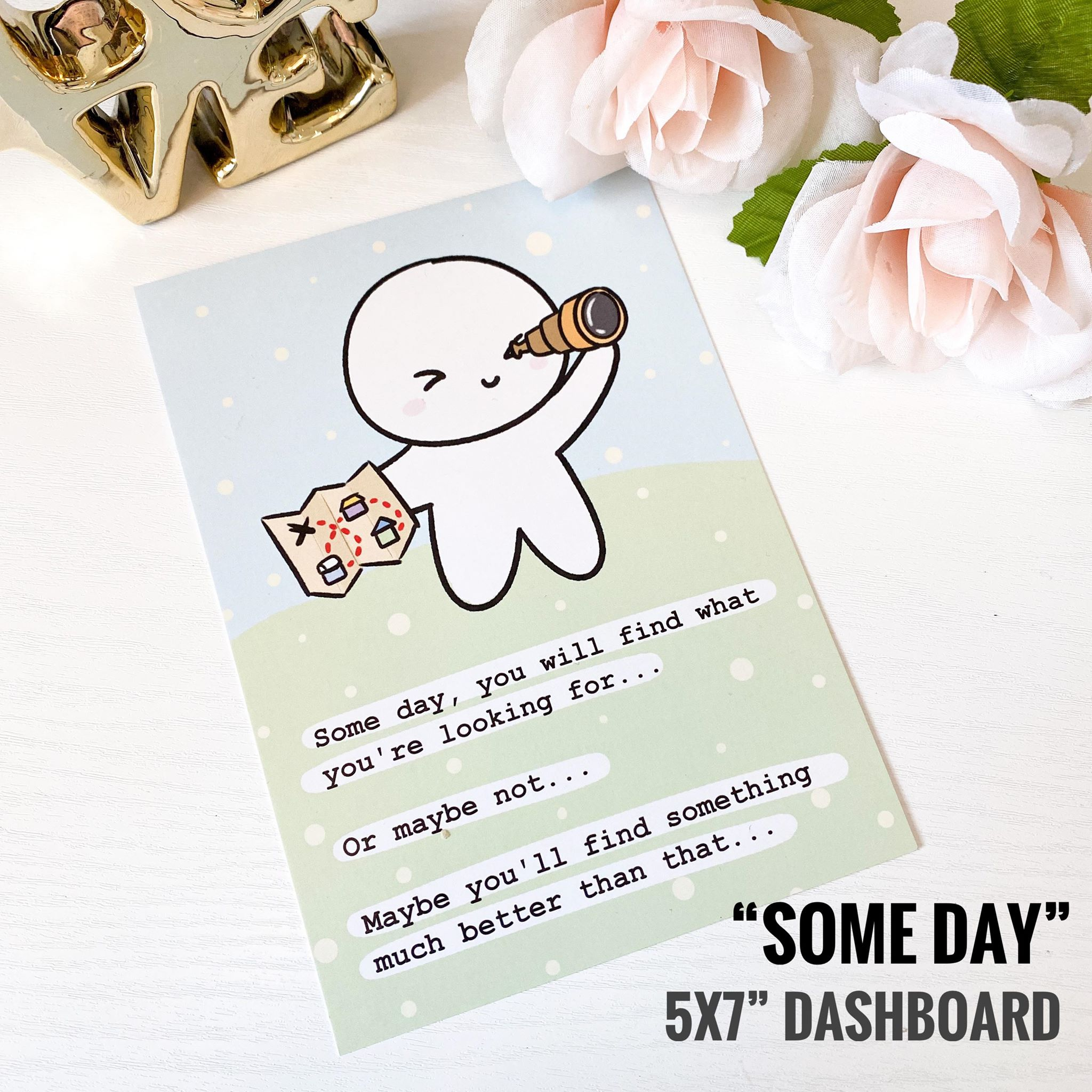 "Journaling Card - ""Some Day"""