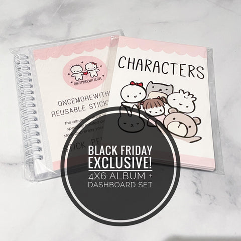 BLACK FRIDAY EXCLUSIVE - OMWL Sticker Collection Album + Dashboard Set // 4x6""