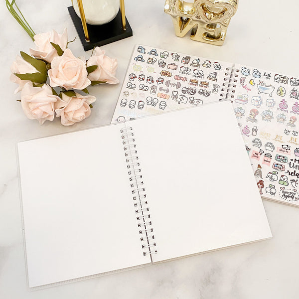 OMWL Sticker Collection Album // Set of 2 Bundle (4x6 and 5x7)