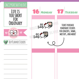 M402 - Buy Tickets for Concerts, Shows, Events, Conventions, Etc Munchkin Planner Stickers