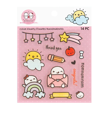 MICHAELS // Clear Stamp Set