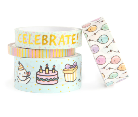 MICHAELS // Party Celebration Theme Washi Tape