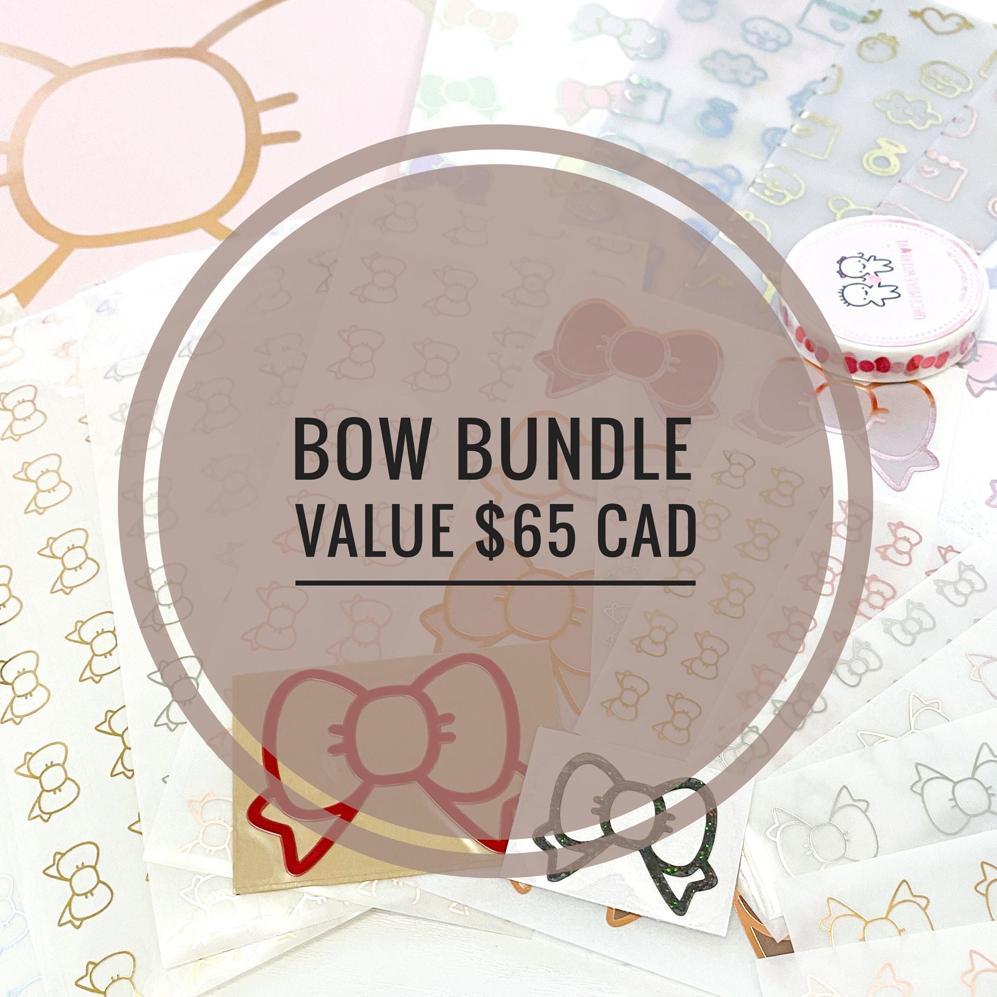 BOW BUNDLE // Pack of 22 Bow Themed Items