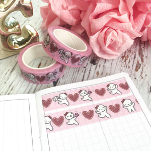 **OOPS QUALITY** ORIGINAL 2.0 // 15mm Washi Tape with Rose Gold Foiling (ORIGINAL)