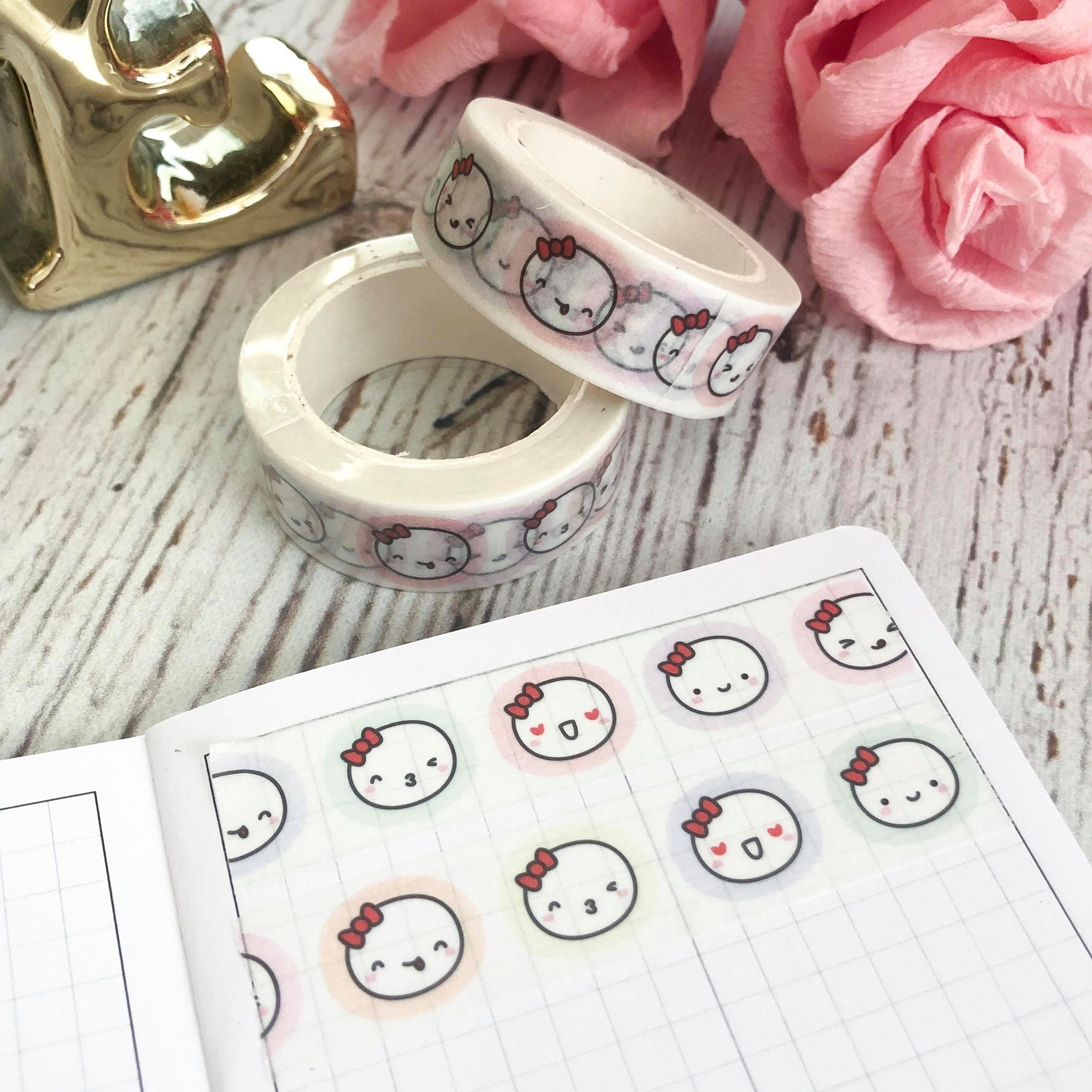 MUNCHKIN HEADS 2.0 // 15mm Washi Tape (HEADS) (FINAL STOCK)