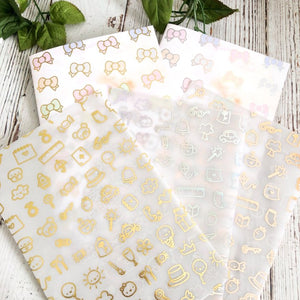 PAPERS - Foiled Papers and Vellum Full and Individual Sheets