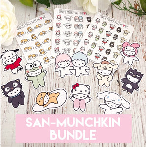 BUNDLE - San-Munchkins Sticker and Die Cut Bundle