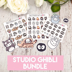 BUNDLE - Studio Ghibli Munchkintoro Sticker and Die Cut Bundle