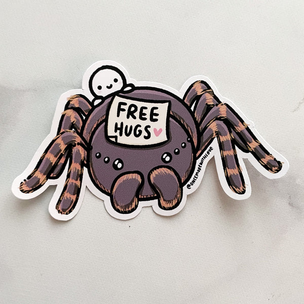 Decal // Free Hugs Tarantula