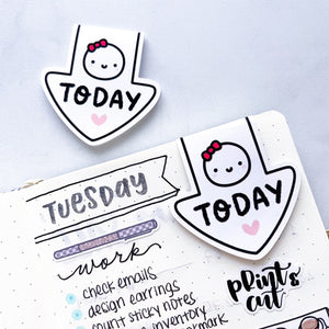 """Today"" Magnetic Munchkin Bookmark"