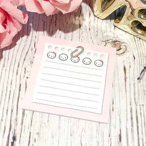 "Pink Notes // 3x3"" Sticky Note Pad (Sticky Note - Pink Notes) (FINAL STOCK)"