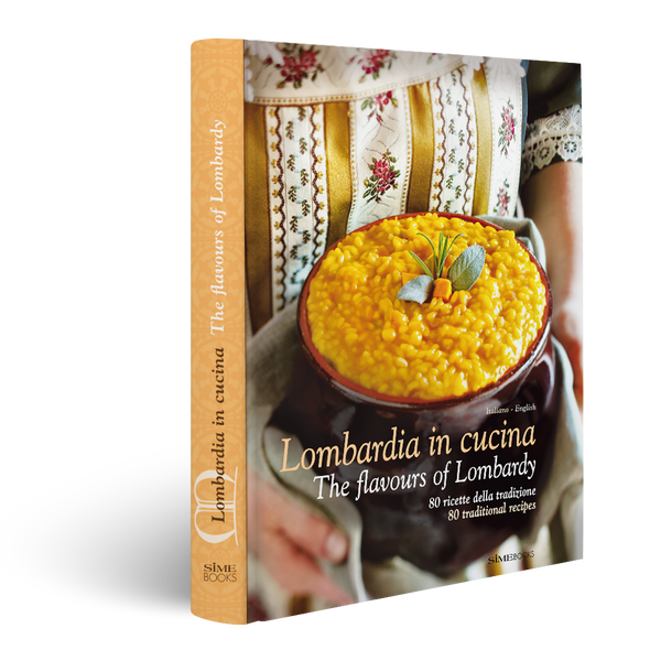 Book Lombarda in Cucina, The flavours of Lombardy, Simebooks
