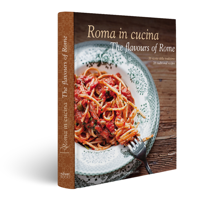 Book, Roma in cucina - The flavours of Rome, Simebooks