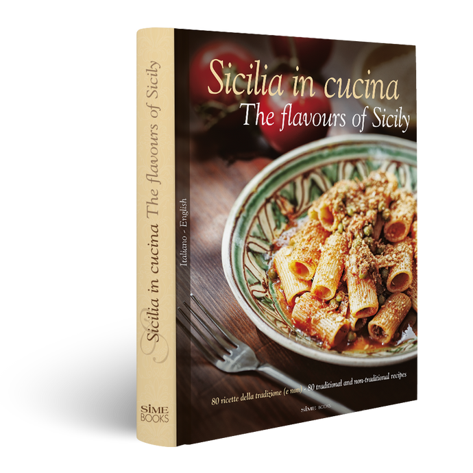 Book, Sicilia in cucina - The flavours of Sicily, Simebooks