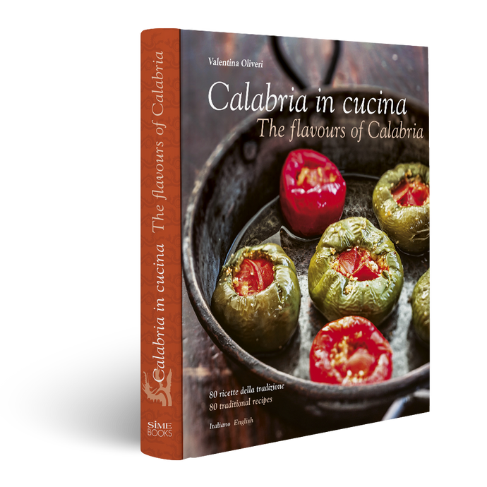 Book Calabria in Cucina, The flavours of Calabria, Simebooks