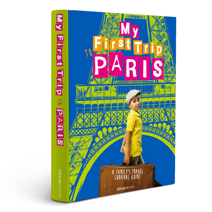 Book, My First Trip To Paris, Simebooks