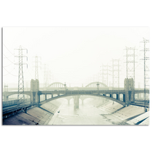 Load image into Gallery viewer, Historic bridge over the Los Angeles River